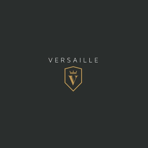 design a luxury logo for versailles watch company ロゴデザインコンペ
