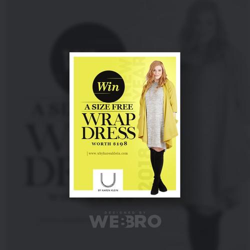 Runner-up design by WebBro