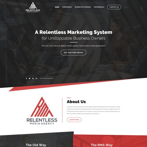 Ontwerp van finalist Webenix Solutions