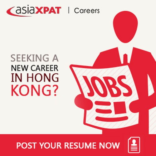 Asiaxpat Jobs Site Banner Design Banner Ad Contest 99designs