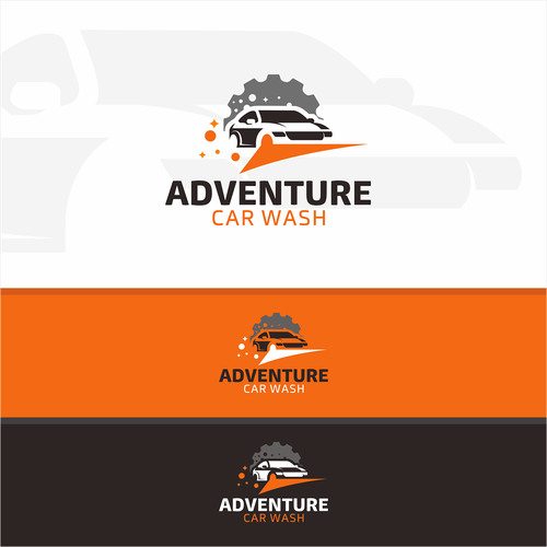 Design a cool and modern logo for an automatic car wash company Design by Grad™