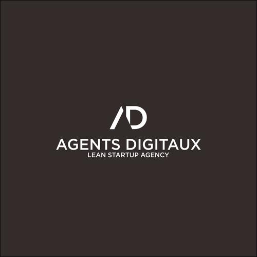 un logo moderne pour une agence digitale