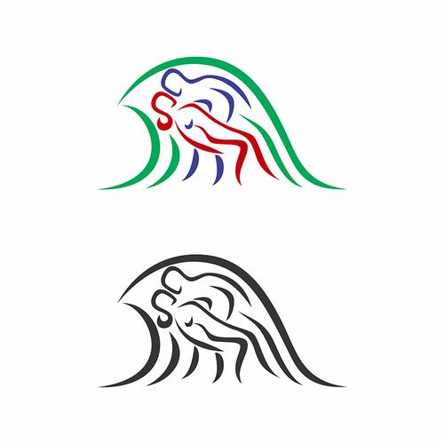 Runner-up design by Sanrix Graphic Design