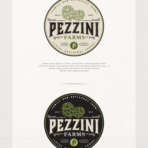 Design di Pezzini Farms - Artichoke Farm and Artisan Market in need of Logo di Project 4