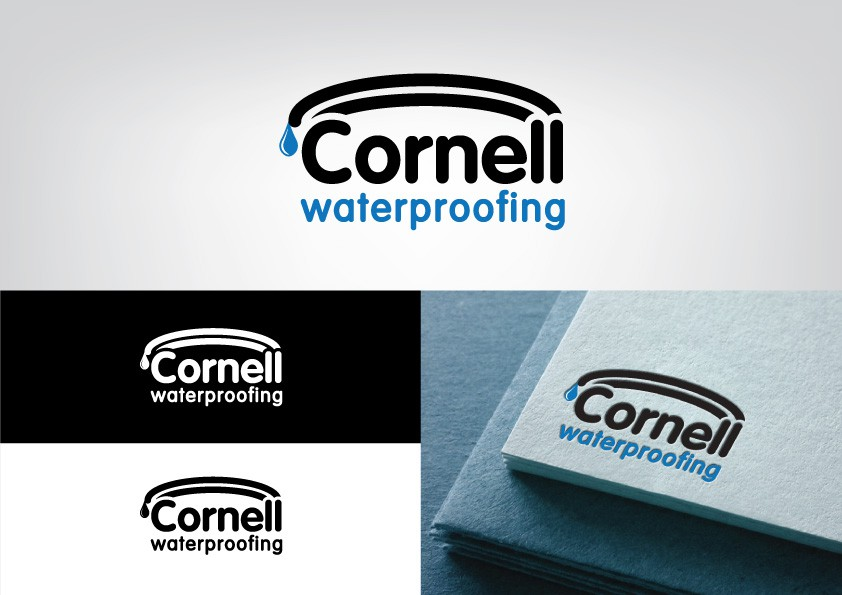 New logo wanted for Cornell Waterproofing   Logo design contest