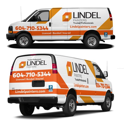 Create catchy vehicle graphics for fleet of painters vans. | Car ...