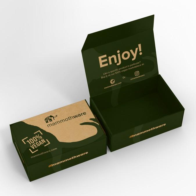 Vegan Subscription Box Design Winning By Shift 123