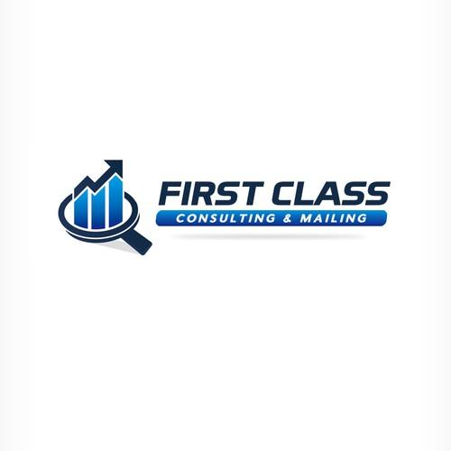 Modernize First Class Consulting Mailing Logo Logo Design Contest 99designs