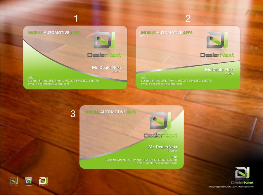 Design vencedor por adzani
