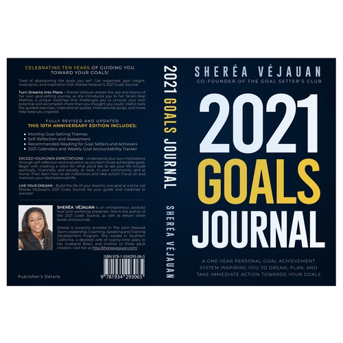 Design 10-Year Anniversary Version of My Goals Journal Design by caveman_district