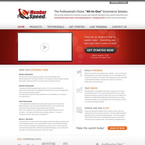 Diseño finalista de Web Craftsman
