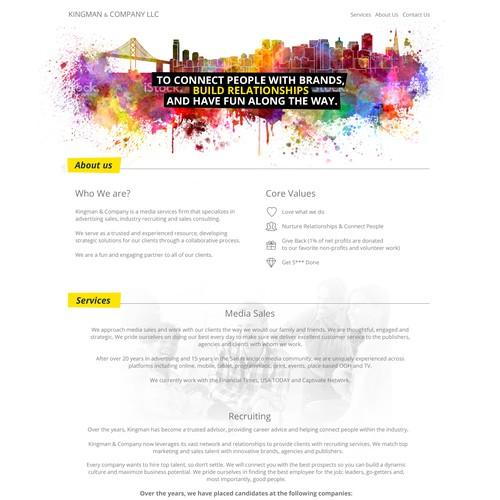 Diseño finalista de GETCREATED