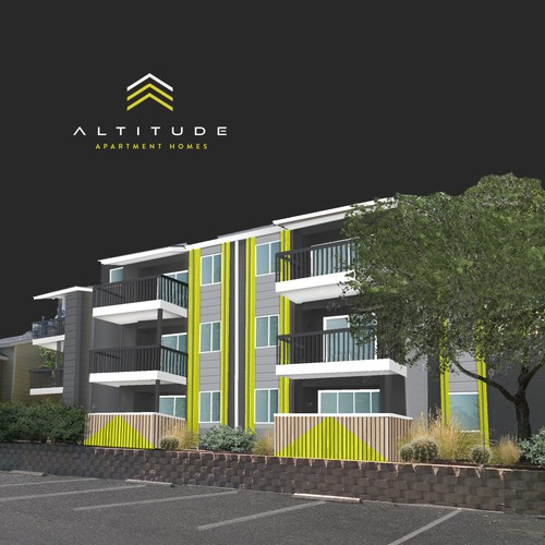 Apartment Design Contest create a logo for altitude apartment homes!!!!! | logo design contest