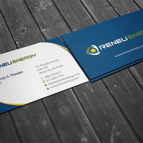 Creating a business card for renewable energy consulting firm that runner up design by conceptu reheart Choice Image
