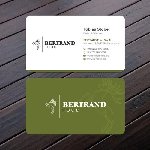 Bertrand card business card contest runner up design by felix sh colourmoves