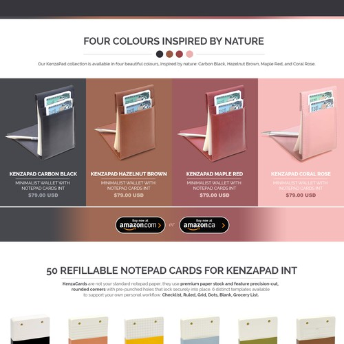 Diseño finalista de DataFox