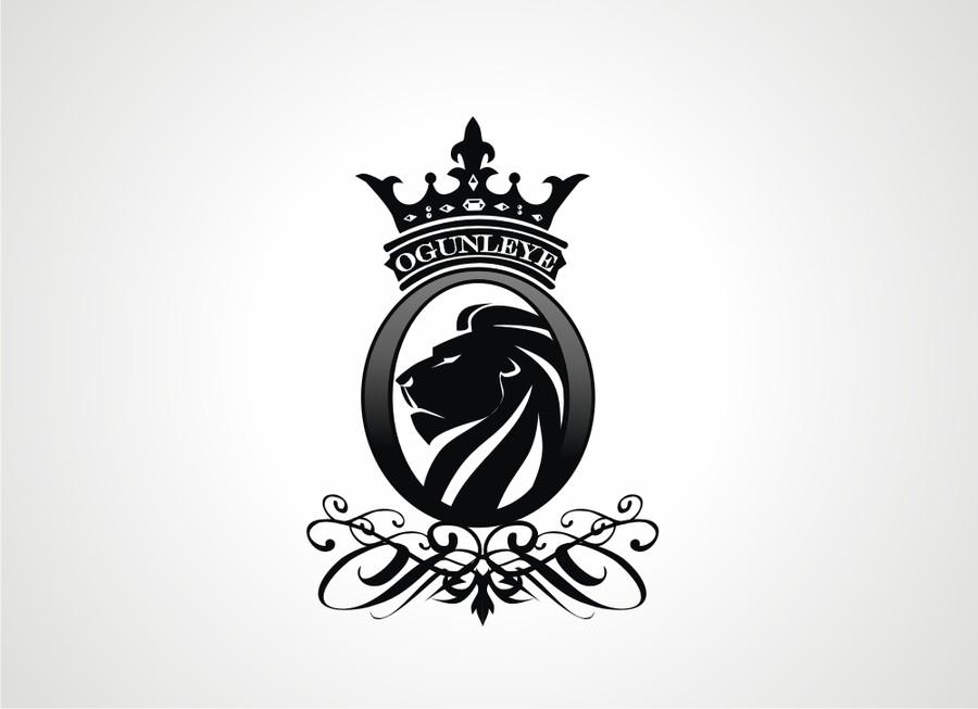 Design gagnant de m jLion With Crown Car Logo