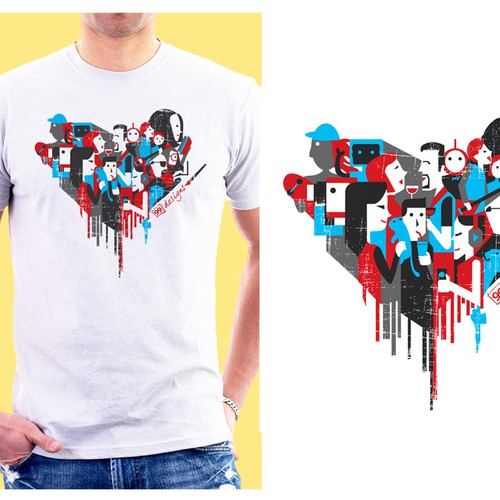 Create 99designs' Next Iconic Community T-shirt Design by f-chen