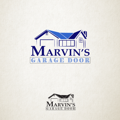 Garage Design Contest By Maserati: Marvin's Garage Doors Logo