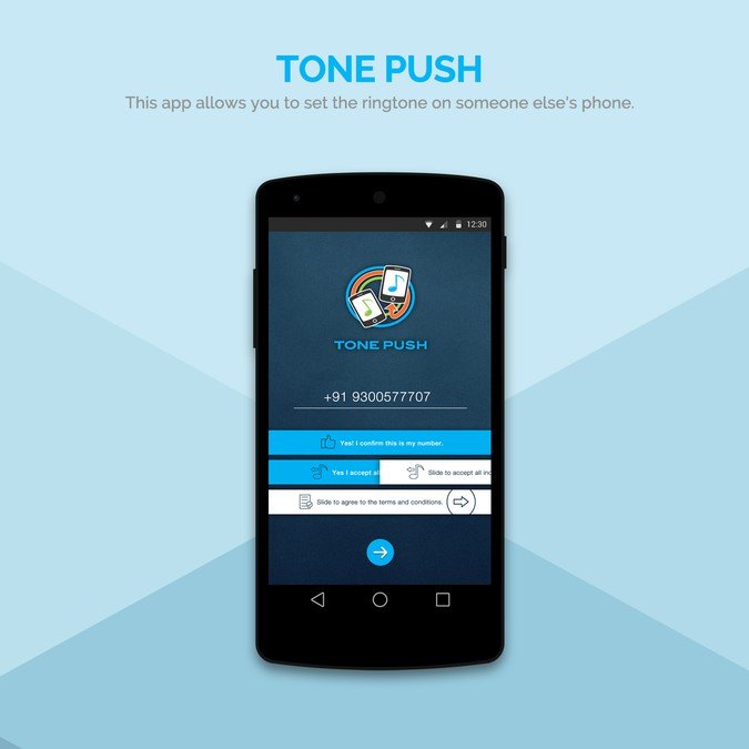 Design the app that *will* go viral - set the ringtone on