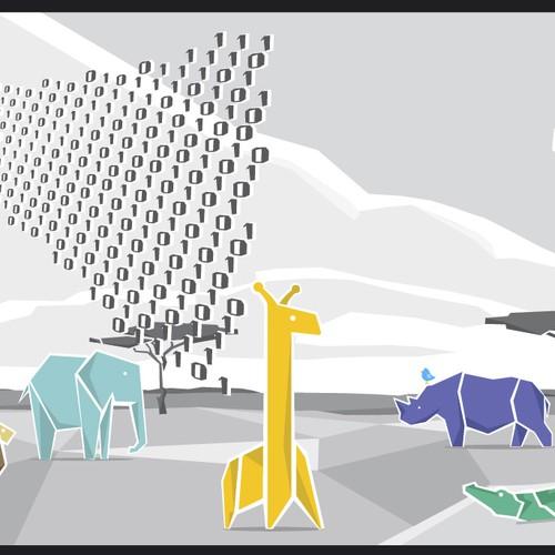 Runner-up design by ilupix