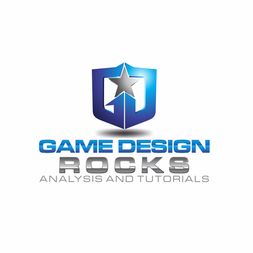 Stand Firm Designs : Gamedesign rocks needs a solid logo and social media