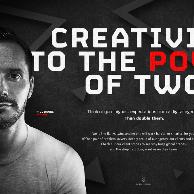Winning design by egzote.com