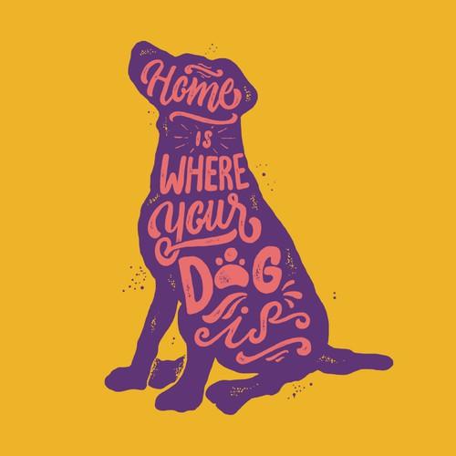 Dog T-shirt Designs *** MULTIPLE WINNERS WILL BE CHOSEN *** Design by stevenmink