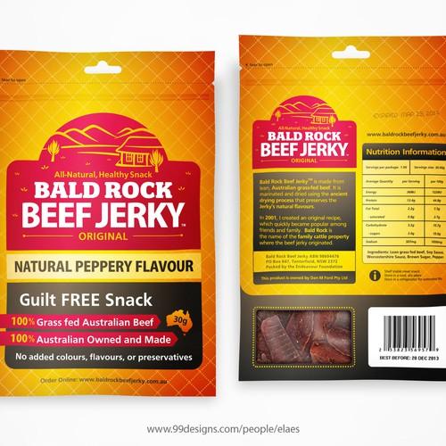 Beef Jerky Packaging/Label Design Design by eLaeS