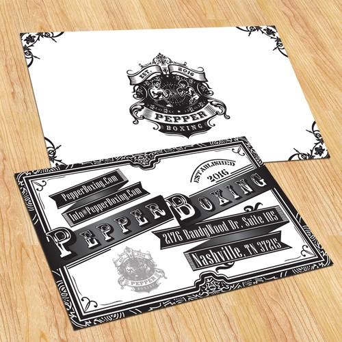 Runner-up design by Little Plum