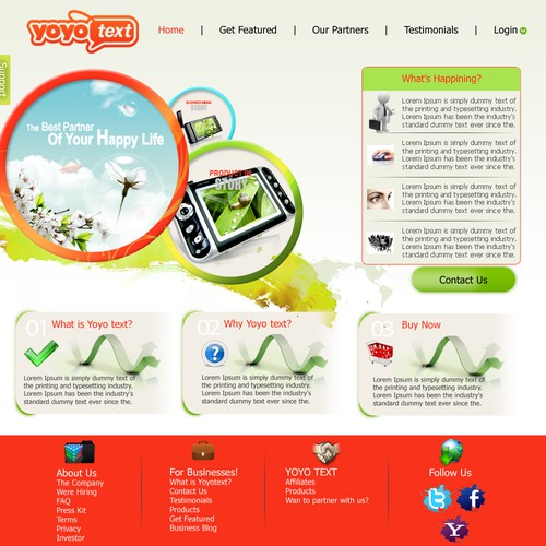 Runner-up design by SHREE WEB SOLUTION