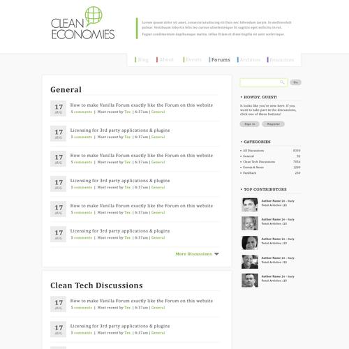 webdesign3rさんが制作した最終選考作品