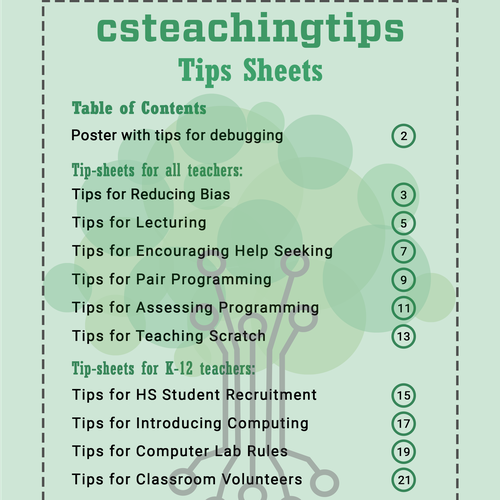 Cover Page For Handouts For Teachers Postcard Flyer Or