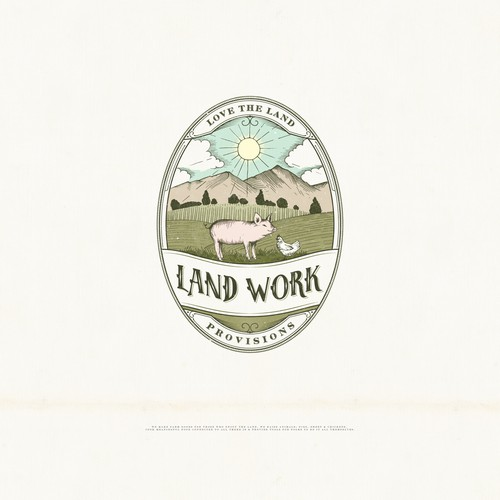 Create a Vintage logo Illustration for Farm Supply Design by GOOSEBUMPS
