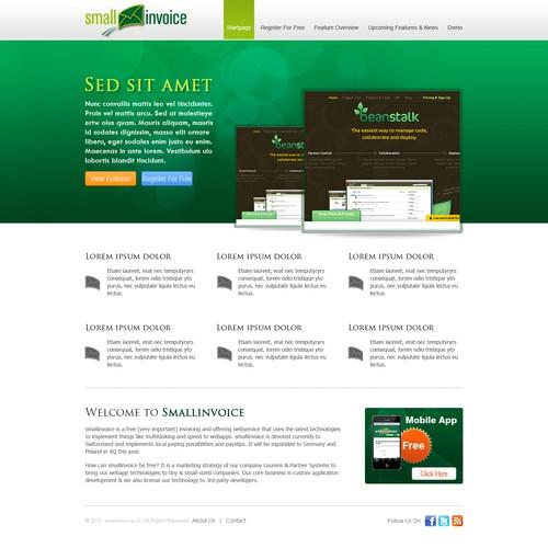 Diseño finalista de Timefortheweb