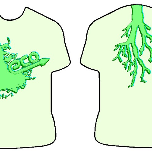 Runner-up design by BrainStorm Brander