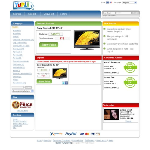 Zweitplatziertes Design von FTW Web Design