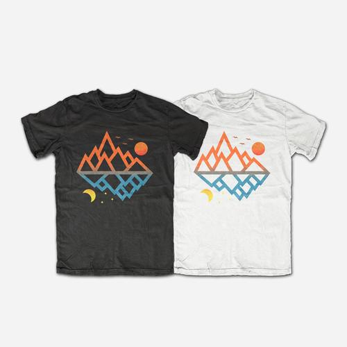 Mountain scene Design by FRESTI