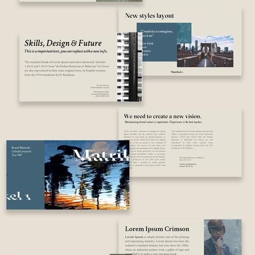 Diseño finalista de graphics traffic