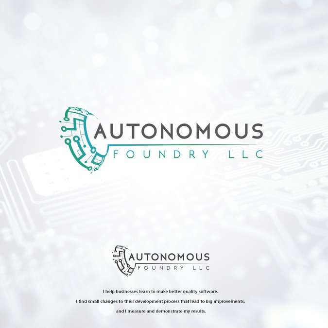 Design a logo that will help Autonomous Foundry LLC improve