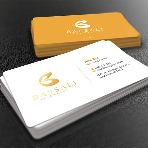 Luxurious elegant and sophisticated business card and for Sophisticated business cards