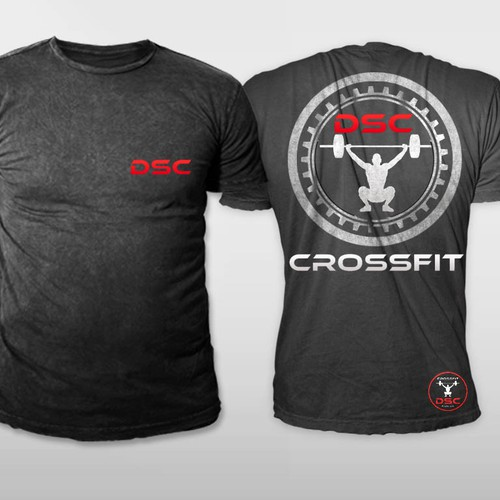 387ae237351 Create an Energetic Design for a CrossFit Box T-shirt | T-shirt contest
