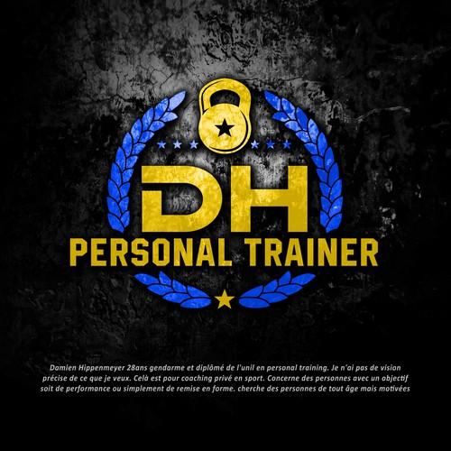Logo pour personal trainer ! Design por Grapìkal