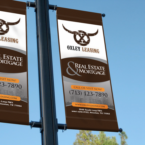 marketing sign for commercial real estate firm to be