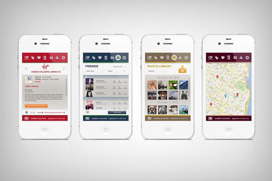 Prize guaranteed front door iphone app app design for Door design app