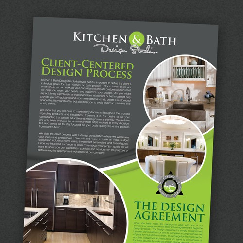 Create A Marketing Flyer For Kitchen Bath Design Studio Postcard Flyer Or Print Contest