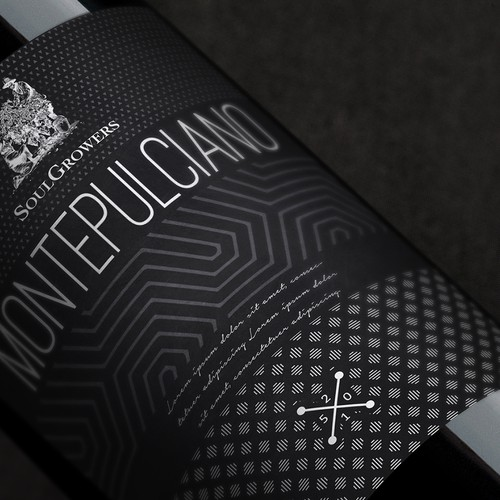 Fresh and Funky new label for Soul Growers Design by Holly McAlister