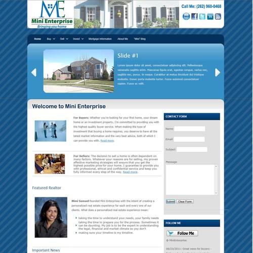 Diseño finalista de mchs_webmaster