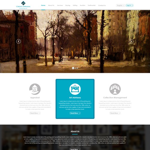 Design finalista por Web Hub Solution