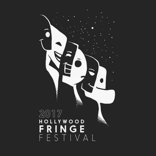 The 2017 Hollywood Fringe Festival T-Shirt Design by -Z-